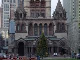 Christmas Preparations, Trinity Church, Boston